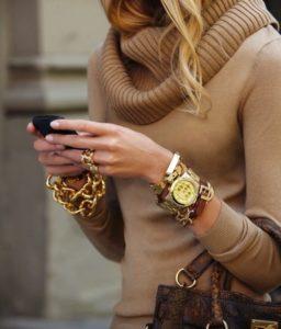 Reloj Dorado…