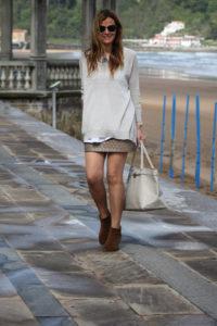 Minifalda Cuero …