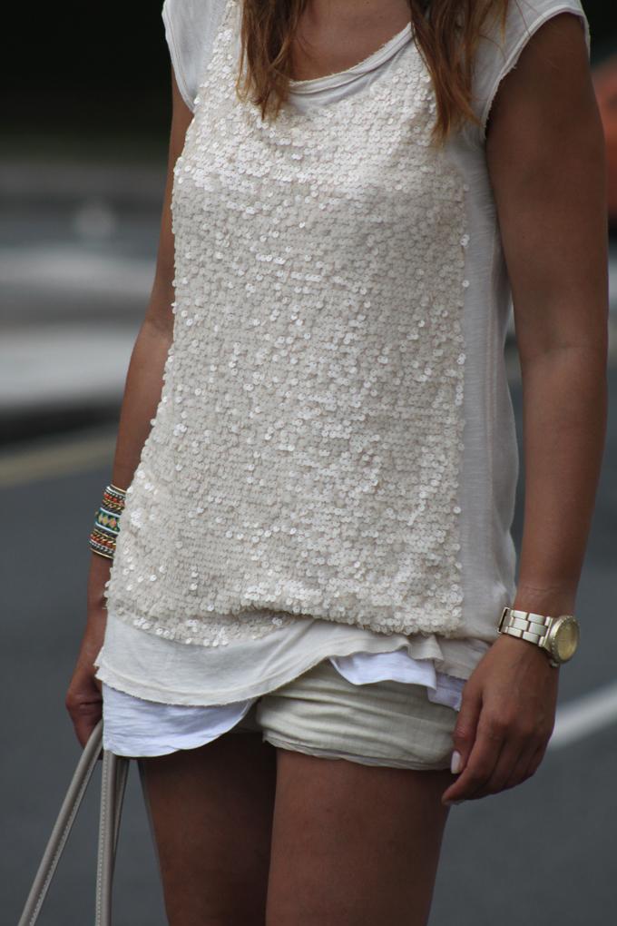 camiseta paillettes , escuestiondestilo , Lucía Díez