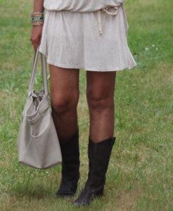 Vestido De Verano Y Botas…