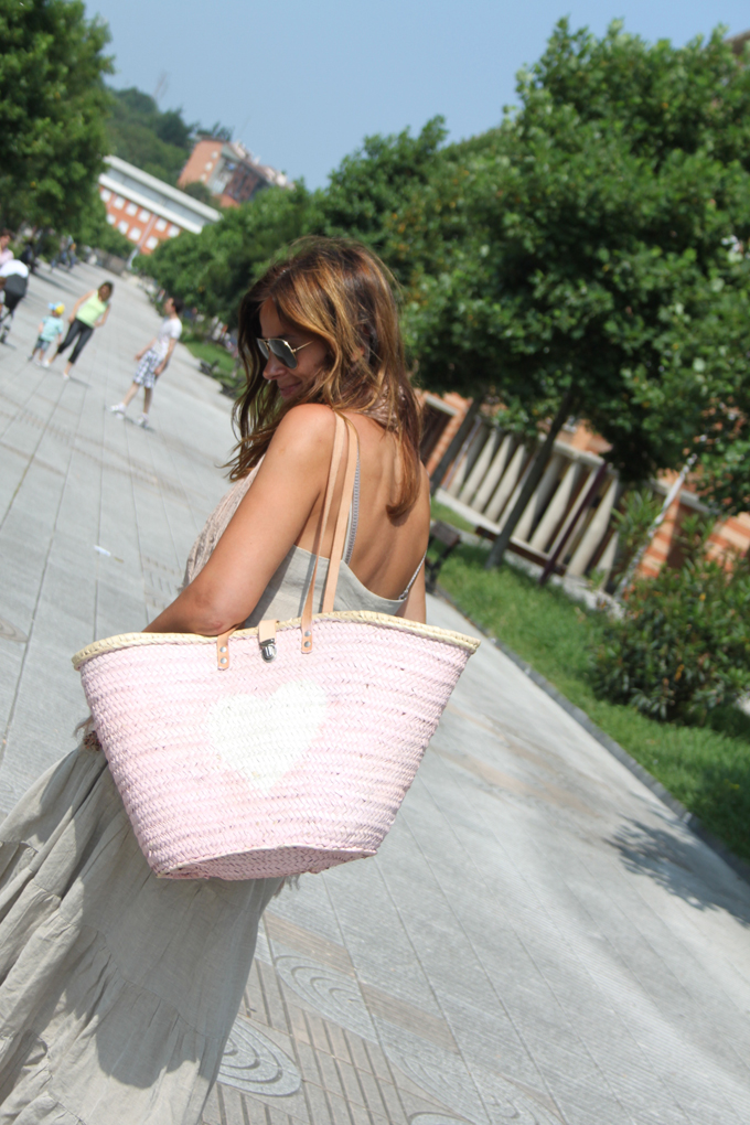 Vestido Largo :Lucia Díez