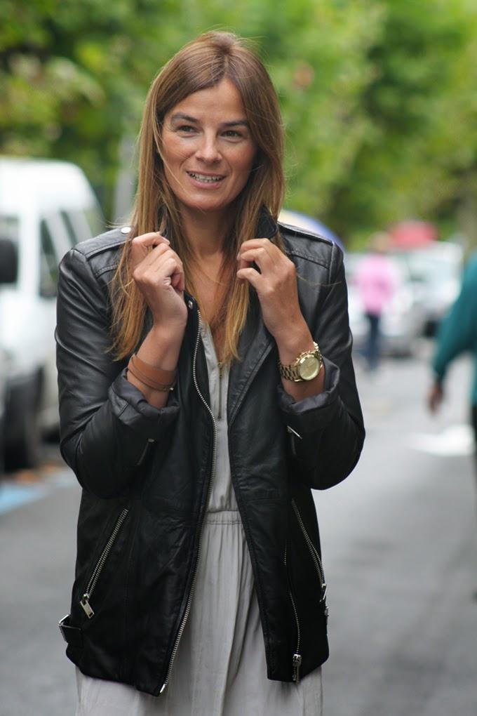Perfecto Zara , vestido KOKET