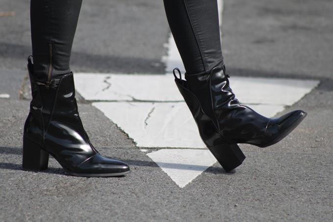 botines charol Zara ,escuestiondestilo ,Lucia Díez