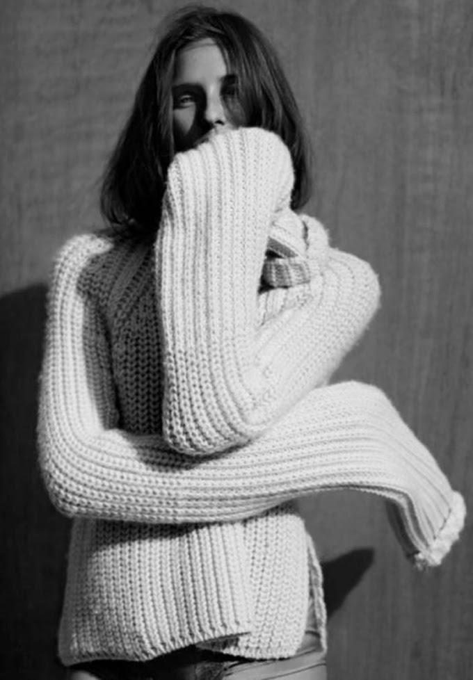 Blanco para invierno , escuestiondestilo,Lucia Díez