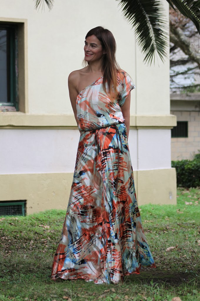 Vestido Largo , Marian Irastorza, Lucía Díez , escuestiondestilo