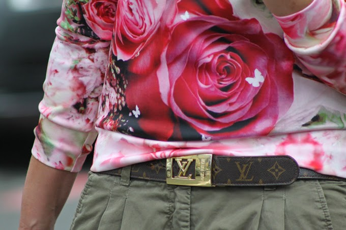 Sudadera flores Dior , escuestiondestilo ,Lucía Díez