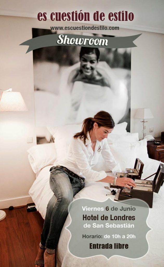 Showroom ,Es cuestion de estilo , Lucia Díez , Hotel de Londres
