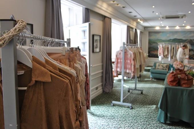 Showroom ,Es Cuestion de estilo , Lucía Díez