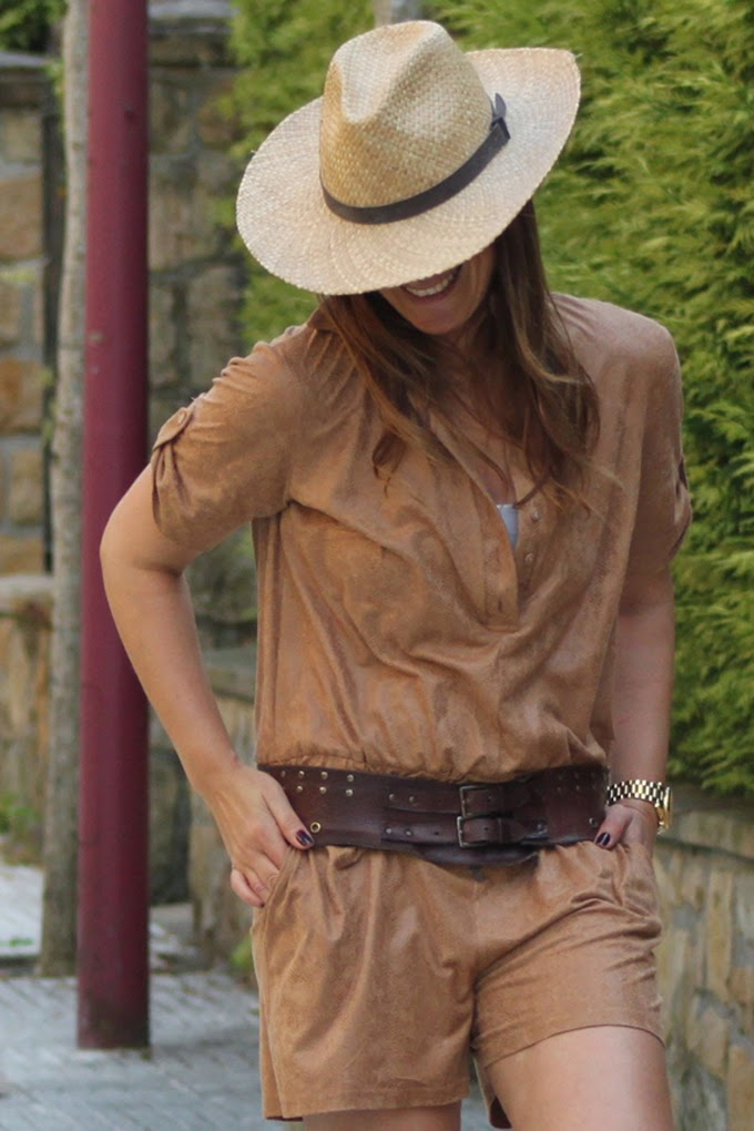 mono marrón , es cuestion de estilo , Lucía Díez