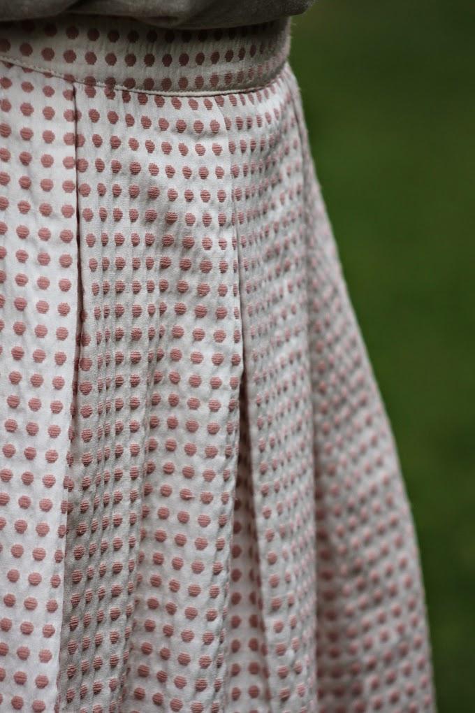 Falda motas , Michael Kors , ray ban , es cuestion de estilo , Lucía Díez