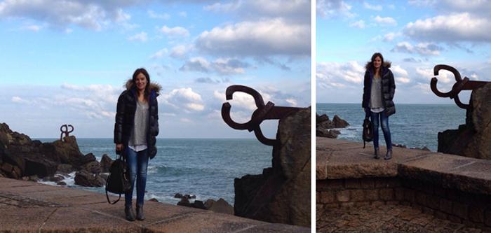 El Peine de los vientos , San Sebastián , Donostia , Es cuestion de estilo , Lucía Díez , Blog , street style,