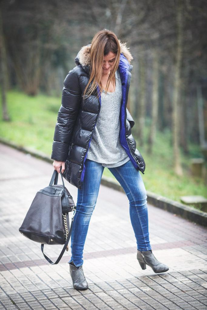 Es cuestion de estilo, Lucía Díez, Plumifero Eddie Pen, street style, Bolso Etro,