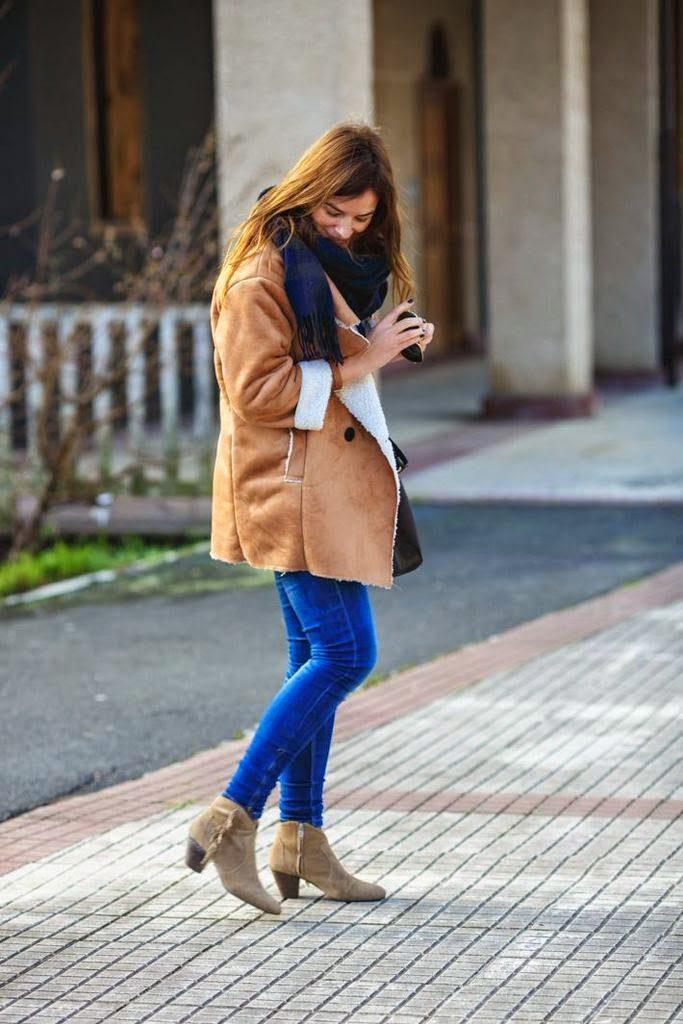 chaqueton Borreguito , Lucía Díez , Es cuestion de estilo , Blog , ASH , Etro , Zara , Choies