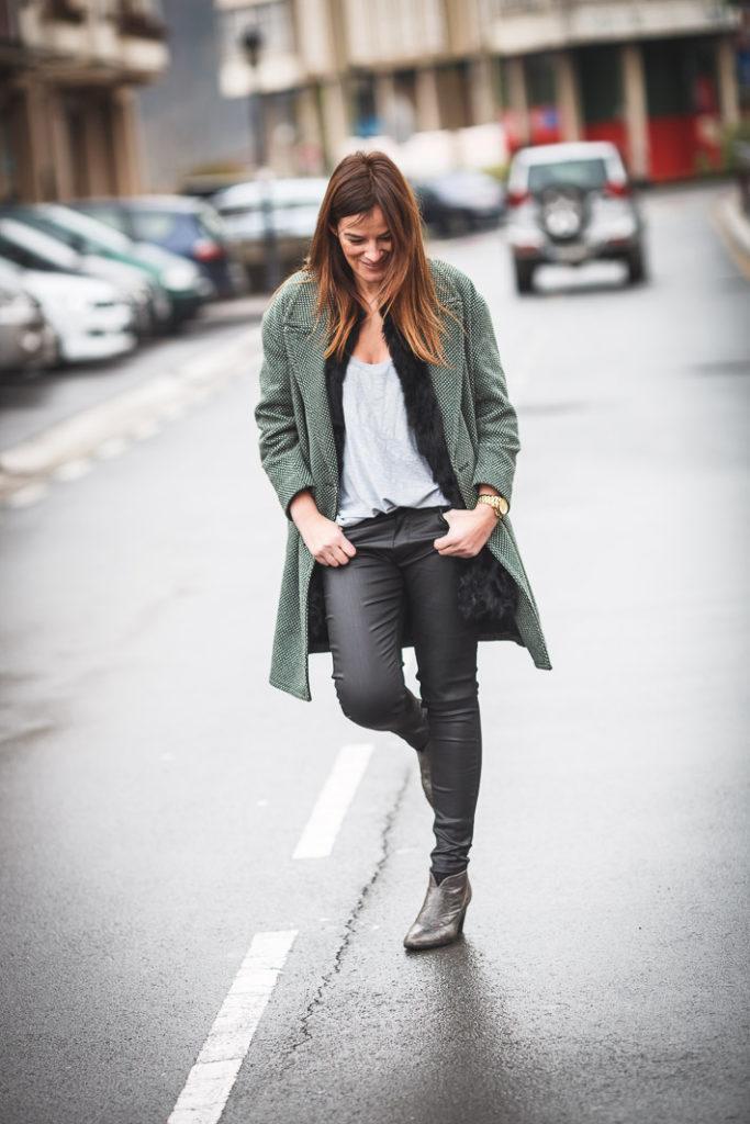 Abrigo Bimba Lola , es cuestion de estilo , Lucia Diez , Blog , Outfits, ,Abrigo