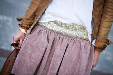 Minifalda Y Botines