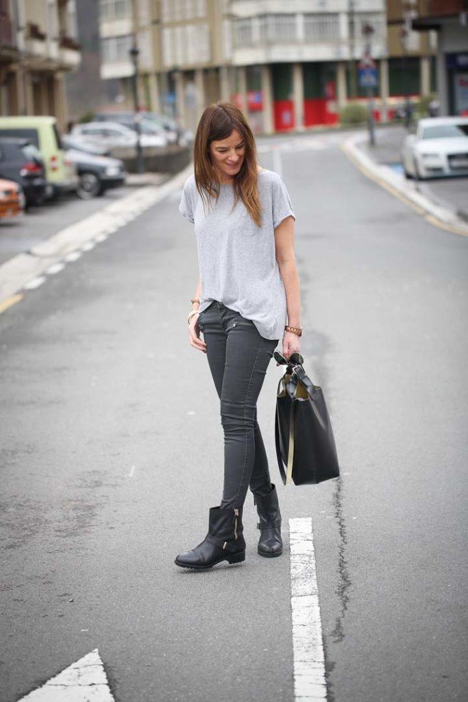 Pantalón Zara , Look sencillo , Look básico , lucía Díez , es cuestion de estilo ,