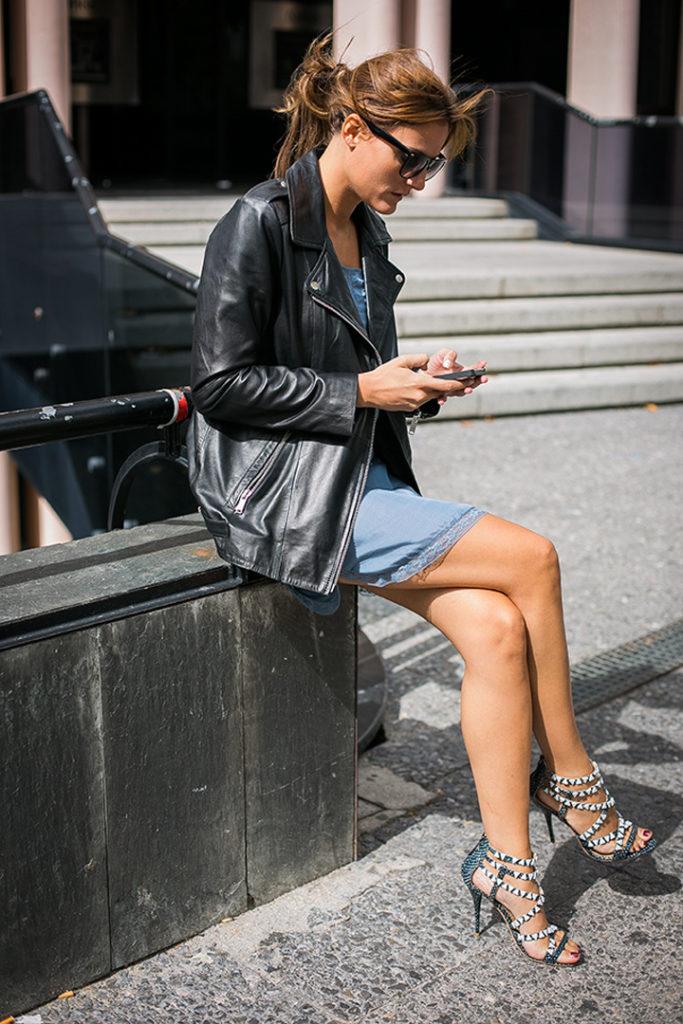 Inspiración , tendencias , trendy , street style, ,perfecto negra , sandalias aquazzura, Es cuestion de estilo, , escuestiondestilo, Lucía Díez , Blogger