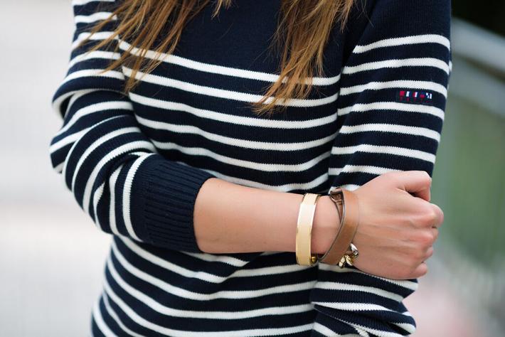 Batela, es cuestión de estilo, jersey, Lucía Díez, Marinero, Navy, náutico, Rayas, street style, Verano,
