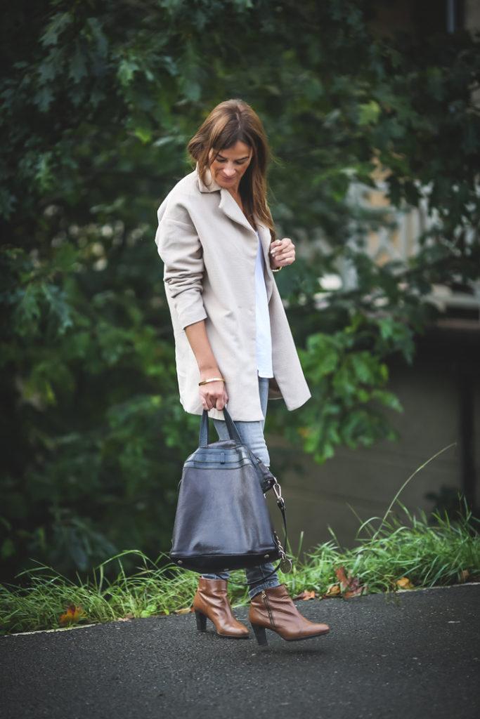 Abrigo ,es cuestion de estilo , pitillo , Lucía Díez ,. Kinue-Boutique .