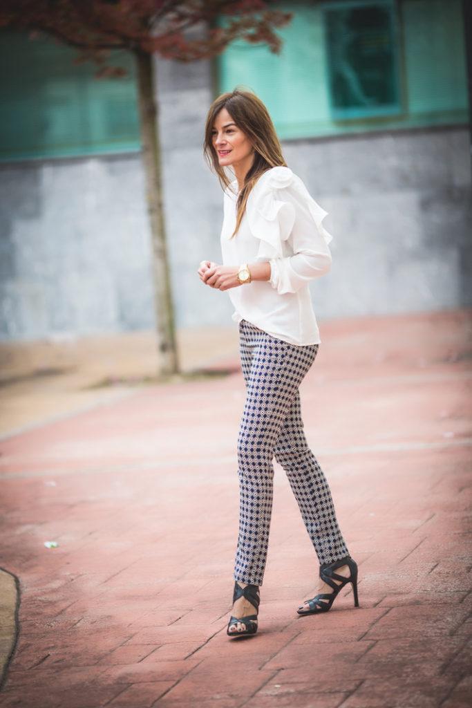 . Kinue-Boutique ., Camisa Blanca , especial , escuestiondestilo, Lucía Díez , street style,