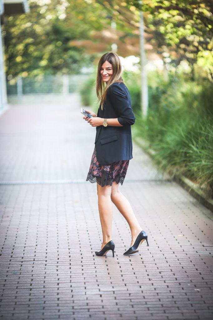 Lencero ,vestido , Zara , Es cuestion de estilo , streetstyle , stiletto ,Lucía Díez