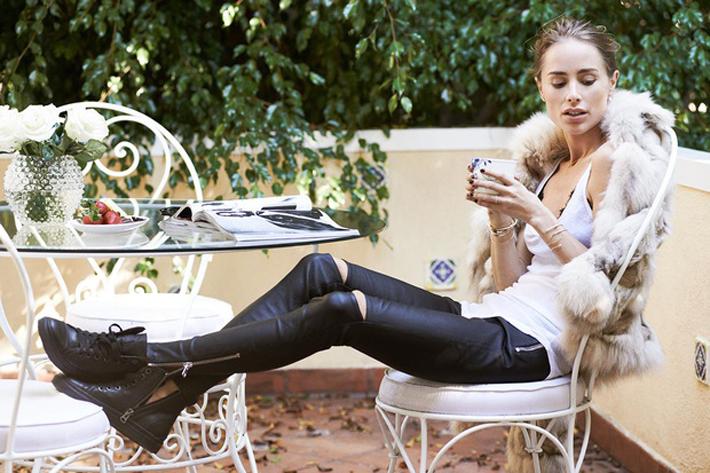 Anine-Bing  , diseñadora , blogger , influencer , Es cuestion de estilo, Lucía Díez,