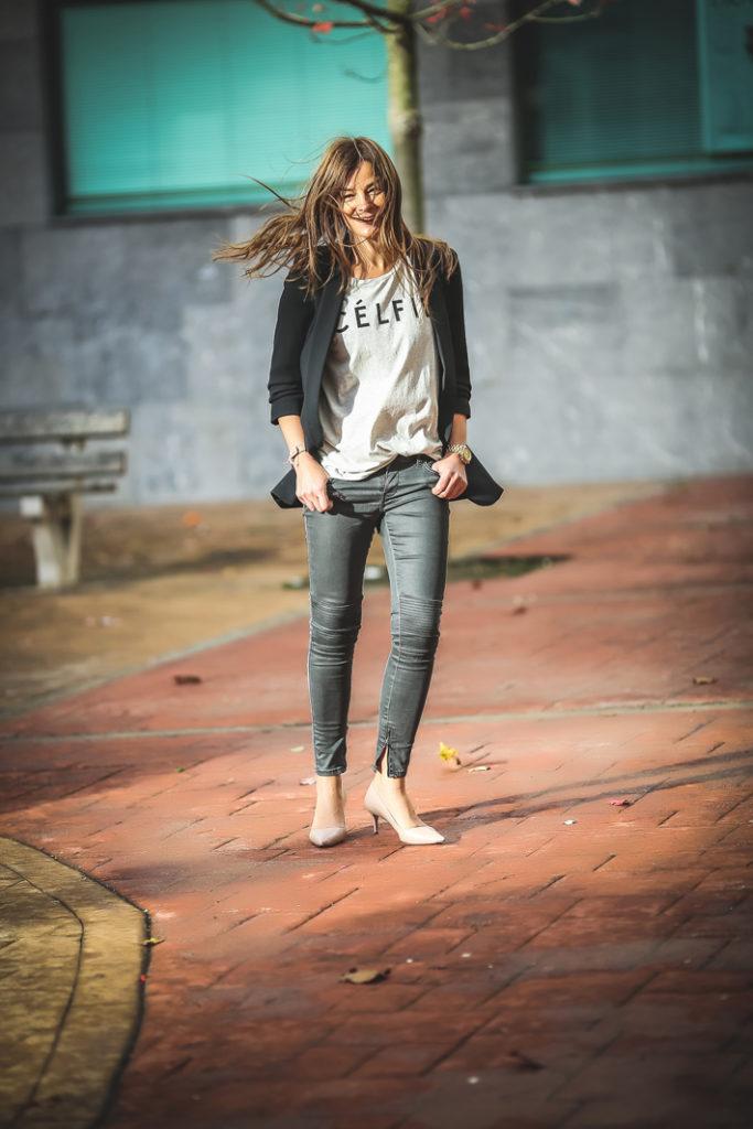 célfie , sincerelyjules , Escuestiondestilo ; Lucía Díez, camiseta , basica