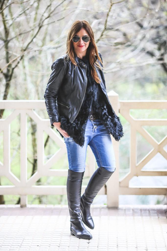 DDP , Perfecto , ´Es cuestion de estilo, Lucía Díez ,Look , street style,