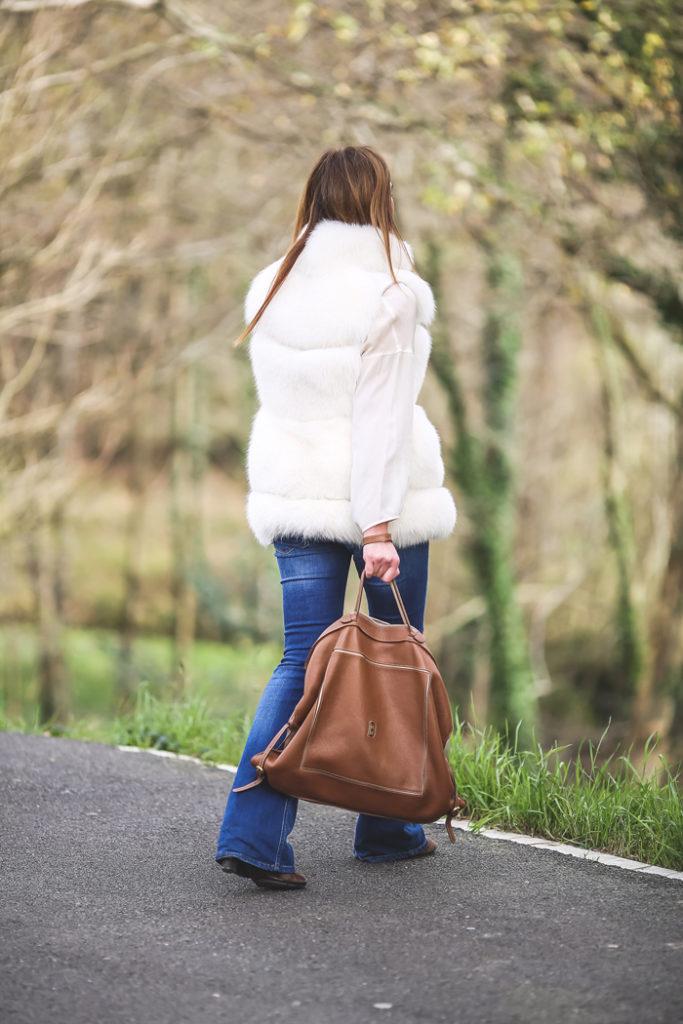 Chaleco pelo , personal shopper , Escuestiondestilo , Lucía Díez, Ainhoa Etxeberria, moda , tendencia