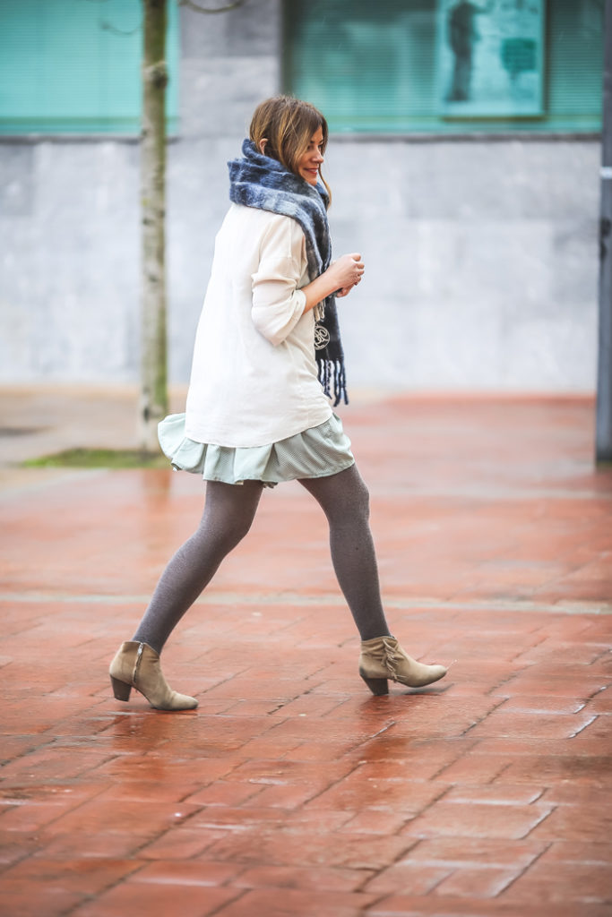 The Amity Company , falda , es cuestión de estilo , Lucía Díez , Personal Shopper , street style, ,look