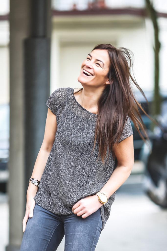 Ainhoa Etxeberria, ,sandalias , Vigna , camisa , Lucía Díez , es cuestión de estilo, personal shopper