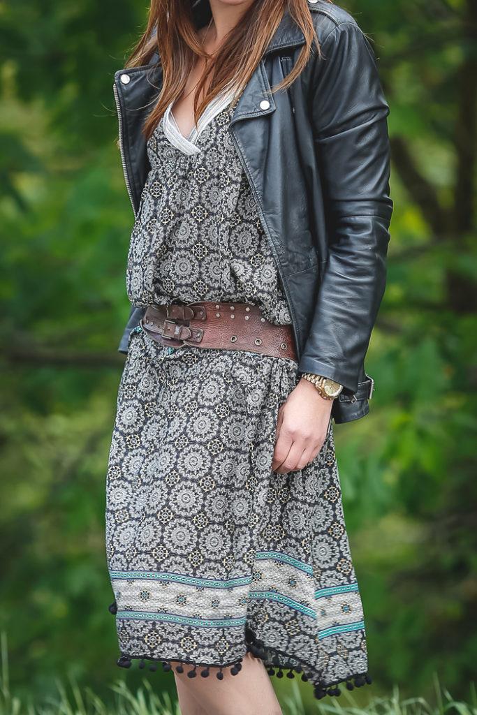 vestido Boho , The Amity Company, es cuestión de estilo , Lucía Díez , street style,