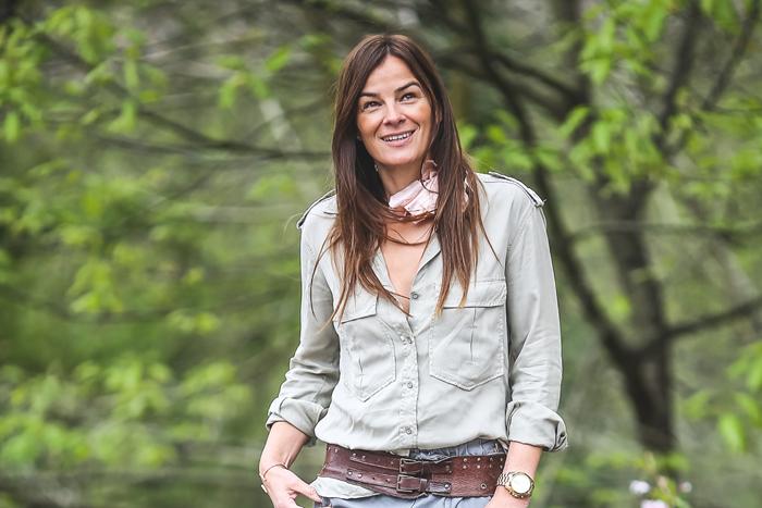 Camisa Verde , es cuestion de estilo , look , Streetstyle, Lucía Díez