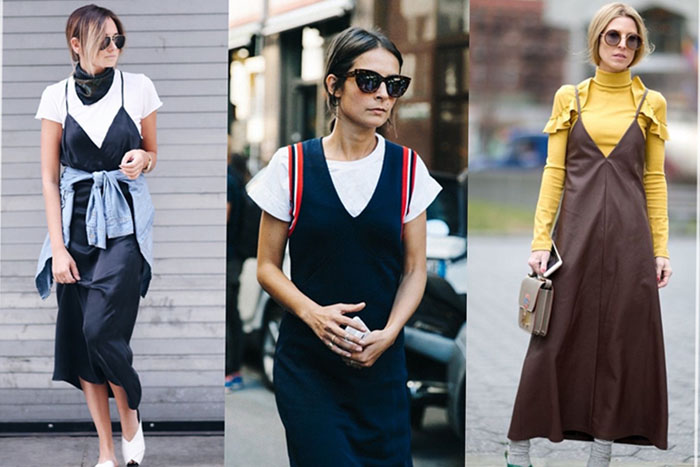 tendencia , slip Dress , es cuestión de estilo , Lucía Díez , camiseta .