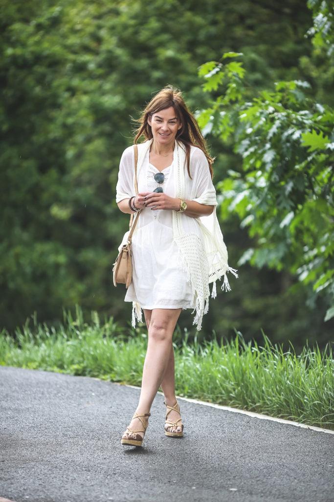 Kimono , blanco , es cuestión de estilo , Lucís Díez , moda , tendencia ,Personal Shopper .