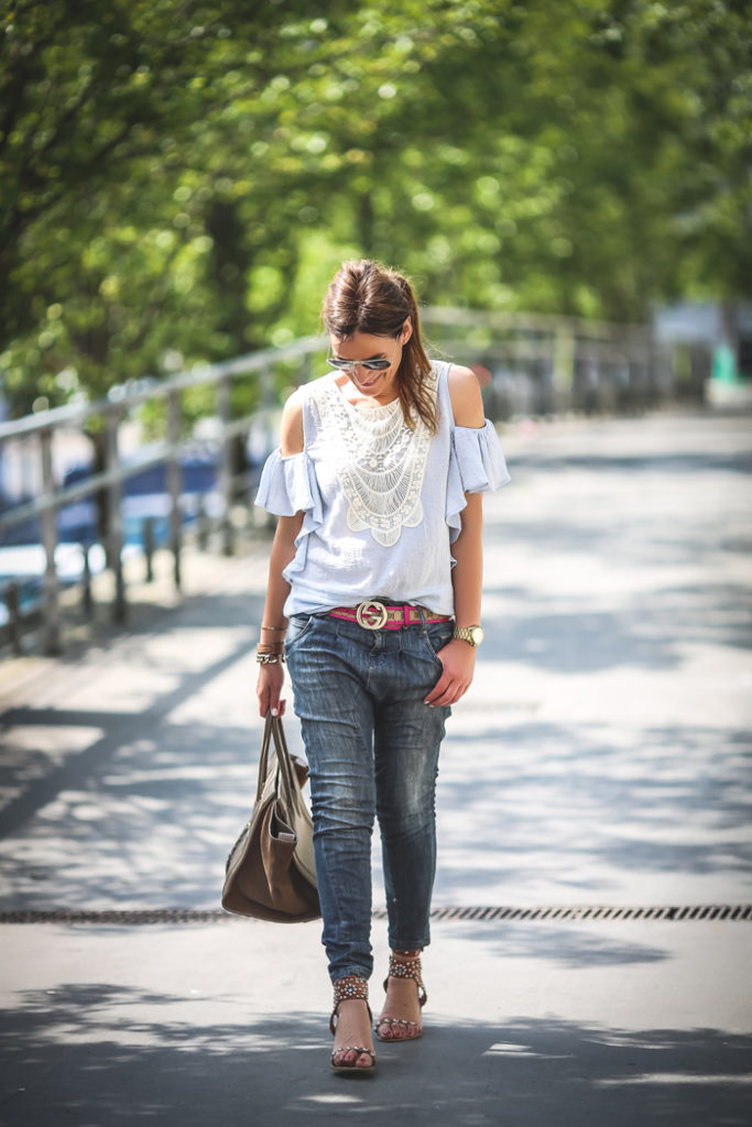 tendencia , Hombros al aire , es cuestión de estilo , Lucía Díez , Personal Shopper .Gucci
