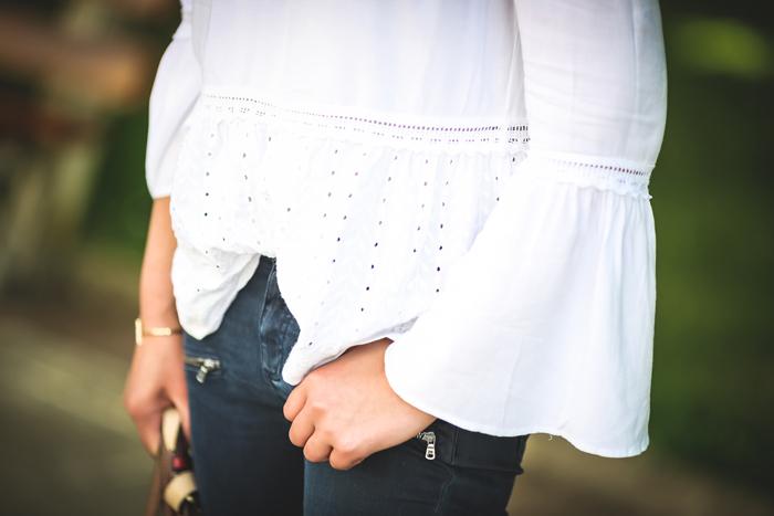 Camisa blanca , Hombros al aire , tendencia , es cuestión de estilo , Lucía Díez , Ursula Mascaró, Sara Jantzidenda
