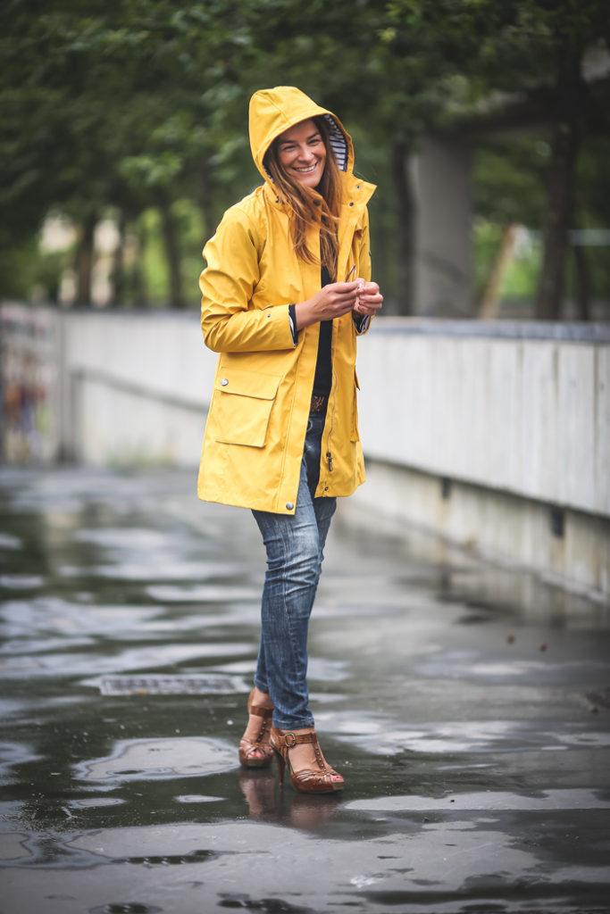 Gabardina Amarilla , Batela , Personal Shopper , Lucía Díez ,San Sebastián , Es cuestión de estilo