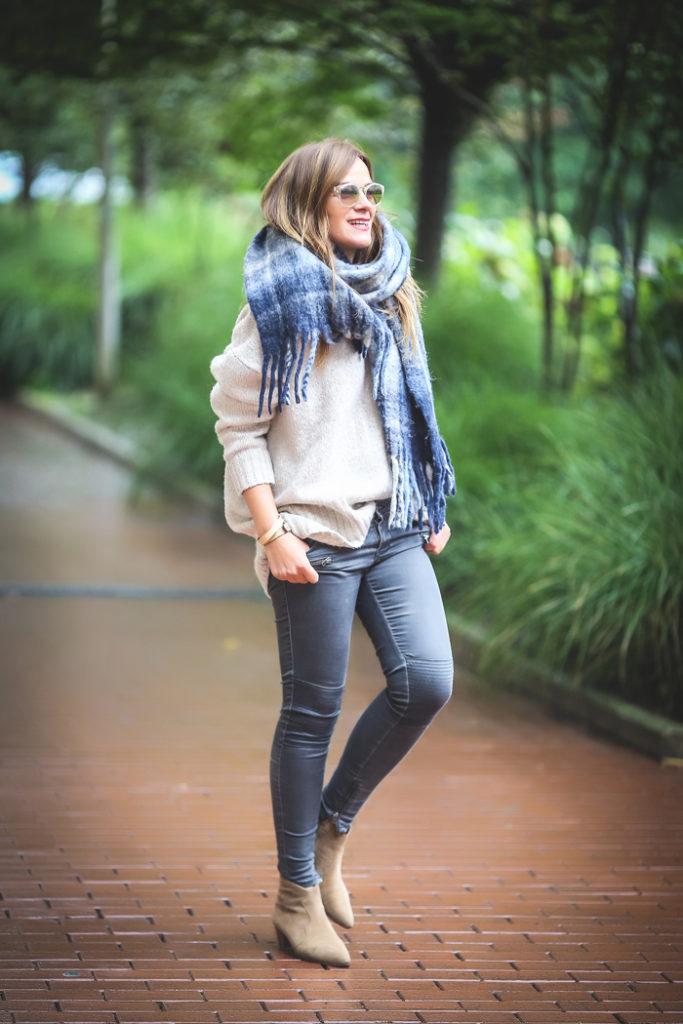 Bufanda Oversize , Estilo , estiloso , es cuestión de estilo , Lucía Díez , Personal Shopper ,Ash .
