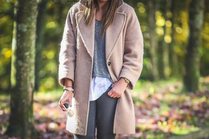Lucía Díez , Personal Shopper , es cuestión de estilo , San Sebastián , Abrigo Camel , Stretstyle, Look para el dia a dia,