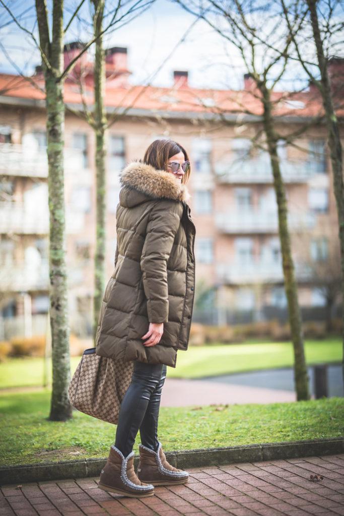 Plumifero verde , MOU , es cuestión de estilo , Personal Shopper , Gucci , Lucía Díez