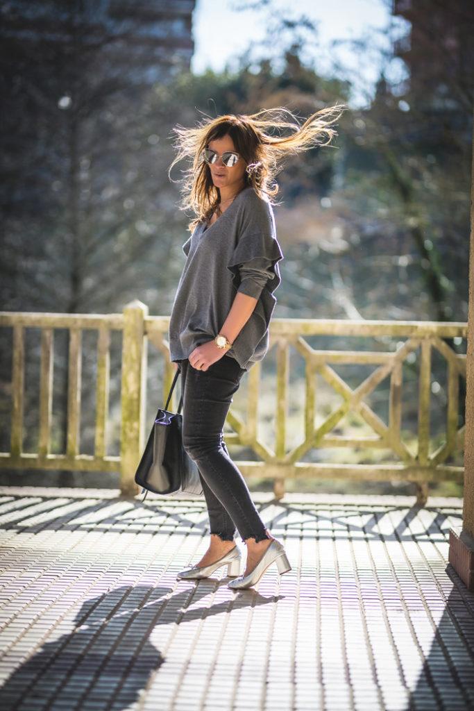 Zapato gris , moda , tendencia , es cuestión de estilo , personal shopper , Lucía Díez