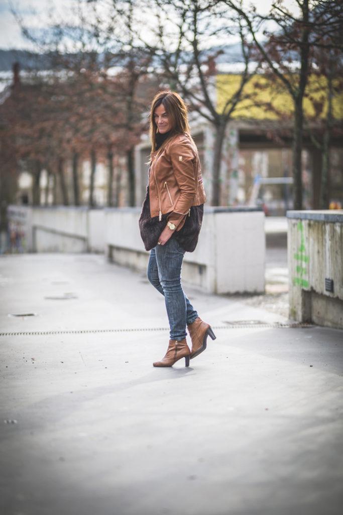 Chaleco de Pelo , Looks , es cuestión de estilo , Lucía Díez , San Sebastián ,Personal Shopper