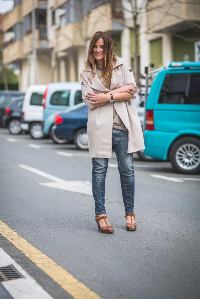 Tienda online . Parka , es cuestion de estilo , venta , Lucía Díez , tendencia , trendy . Camiseta .