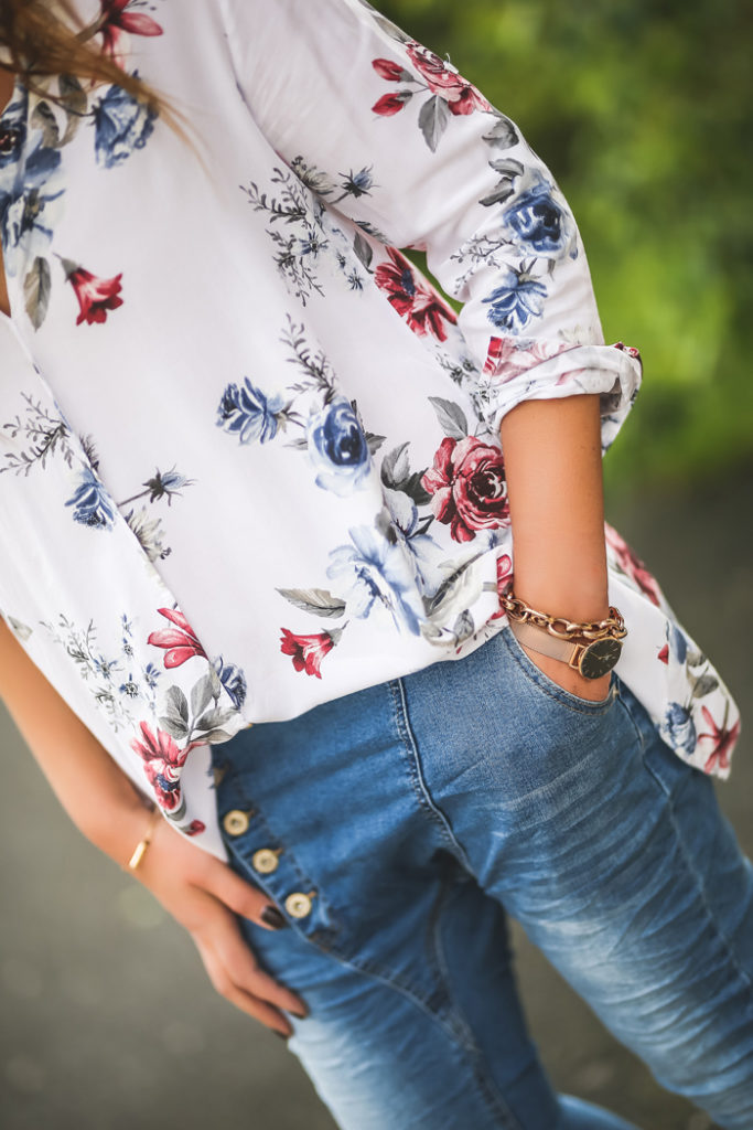 Camisa Flores , tendencias , personal shopper , Lucía Díez , Shop online ,Baggys