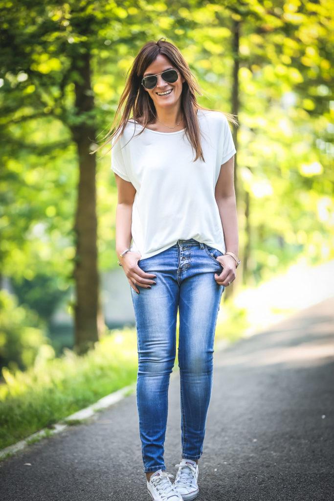 Camiseta básica . Es cuestión de estilo , Personal Shopper , Lucía Díez , Tienda online , SHop ONLINE