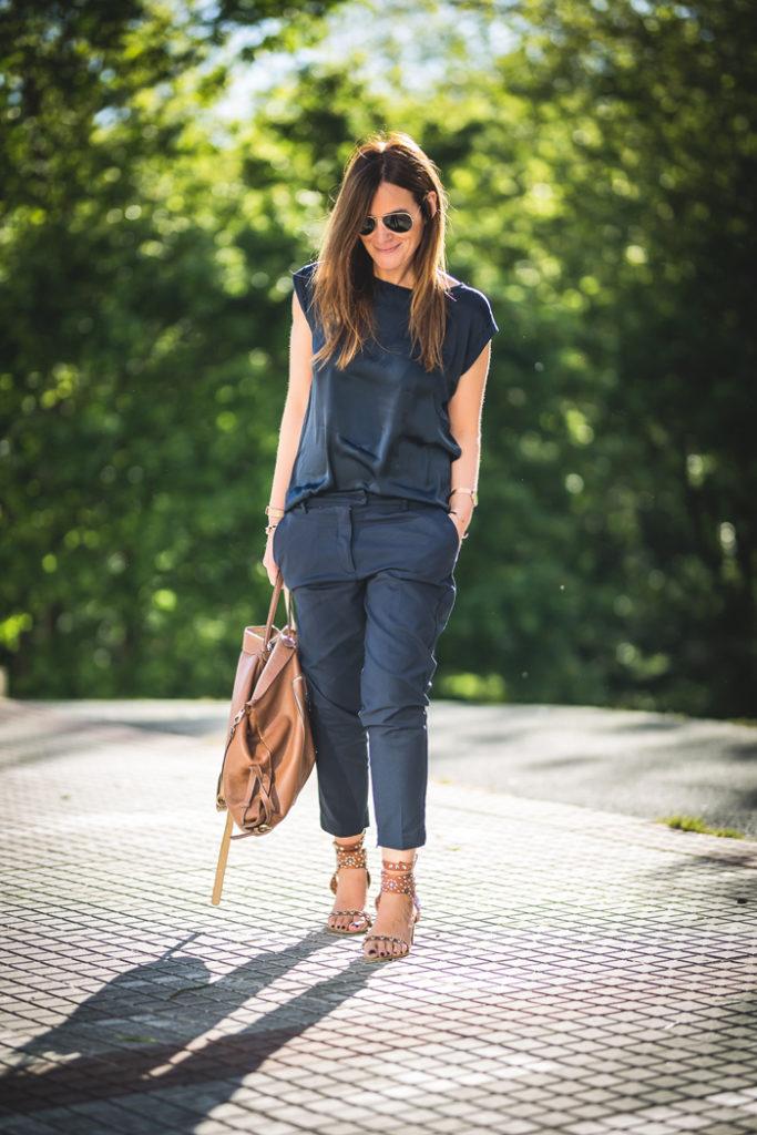 Camiseta básica , mono vestir , jumpsuit , Lucía Díez , es cuestion de estilo , Personal Shopper .shop online,