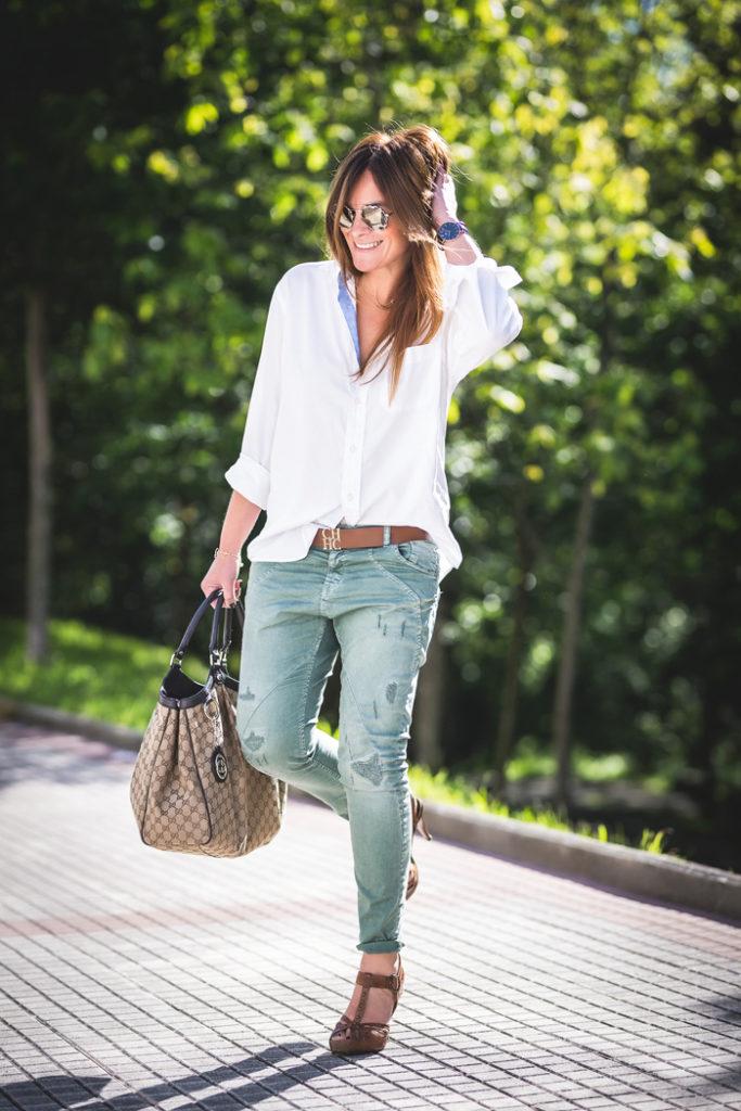 Lucía Díez ,es cuestion de estilo , shop online ,Prada , Carolina Herrera, Pedro Garcia ,