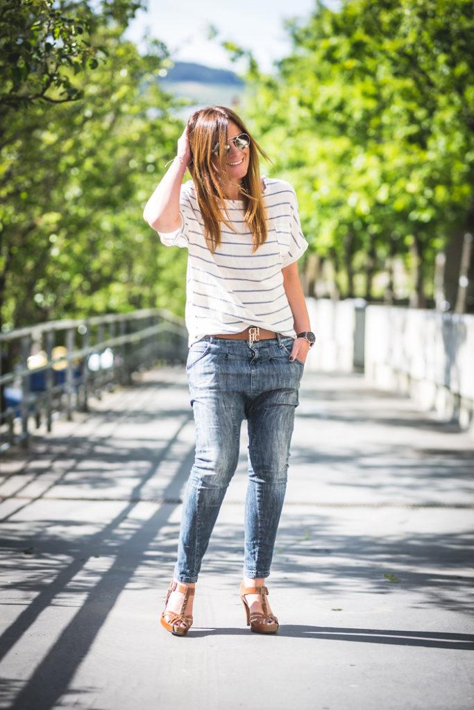 Camiseta Rayas , Lucía Díez ,Es cuestión de estilo , Personal Shopper , Shop online , tienda online , CH , Prada , Pedro García