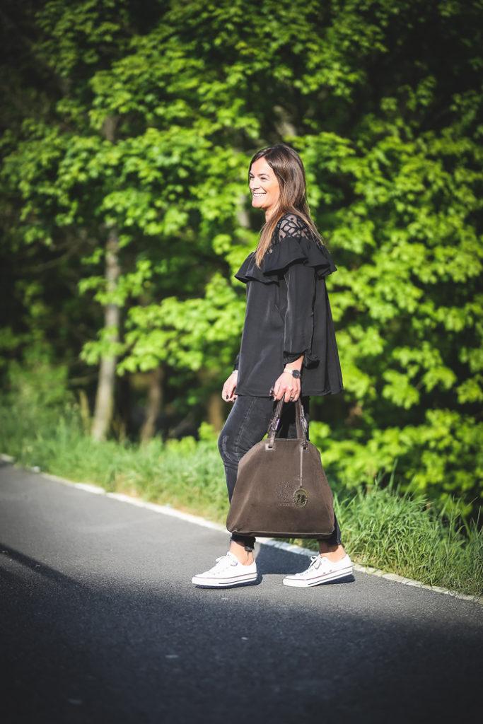 Tendencia , volantes , encaje , estilo , Personal Shopper , Lucía Díez , converse .